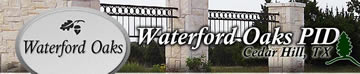 Waterford Oaks PID banner