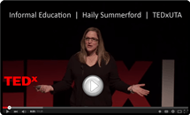 Outdoor Education TEDxUTA Talk with Haily Summerford