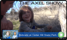 The Axel Show Bobcats at Cedar Hill State Park