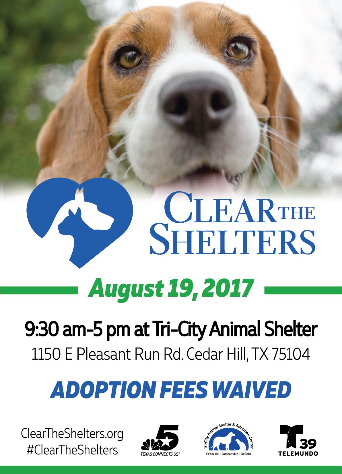 2017CleartheShelters