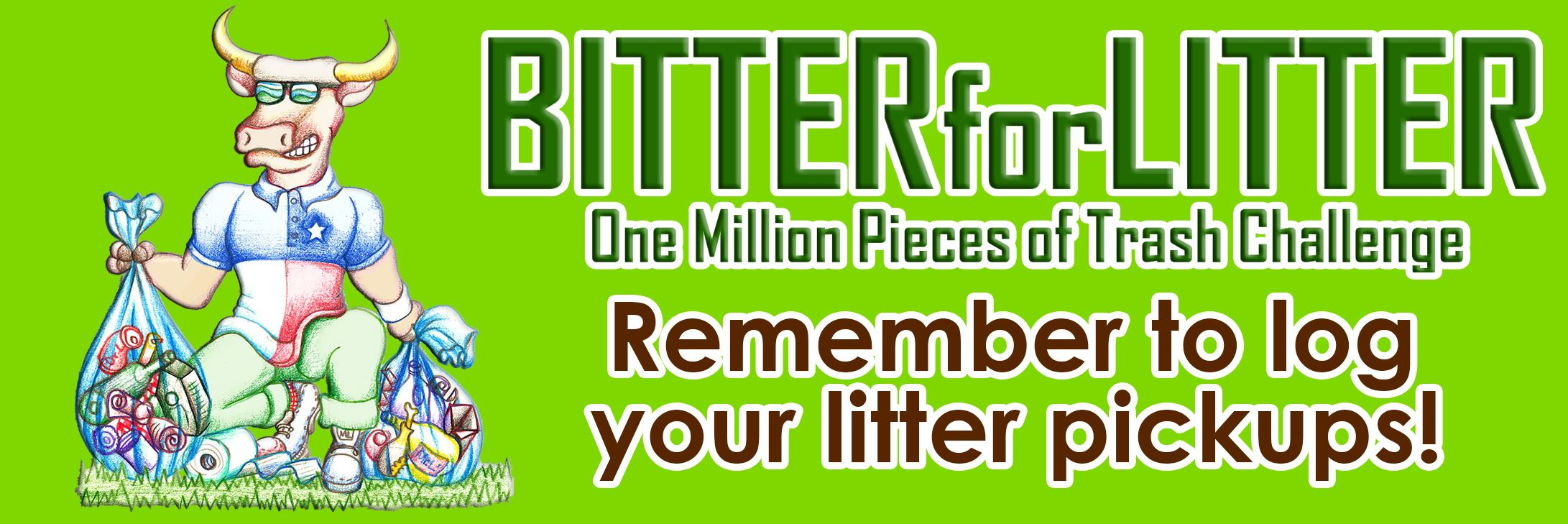 Bitter for Litter Banner