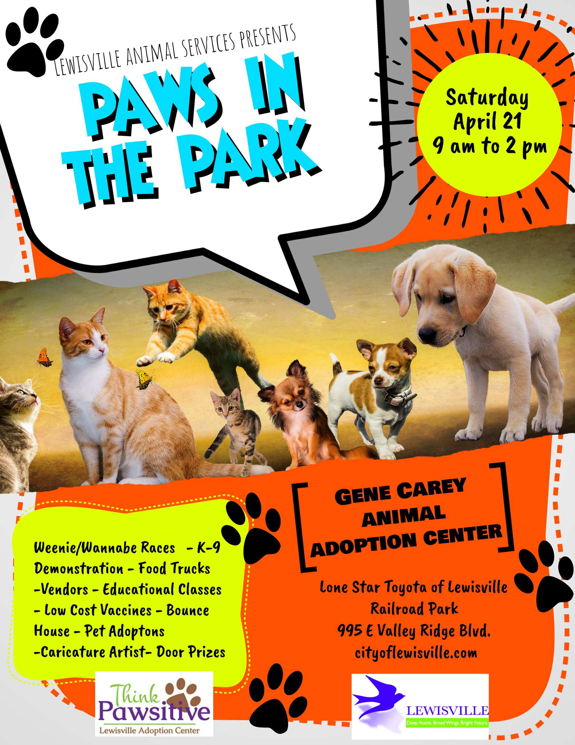 2018 Paws In The Park