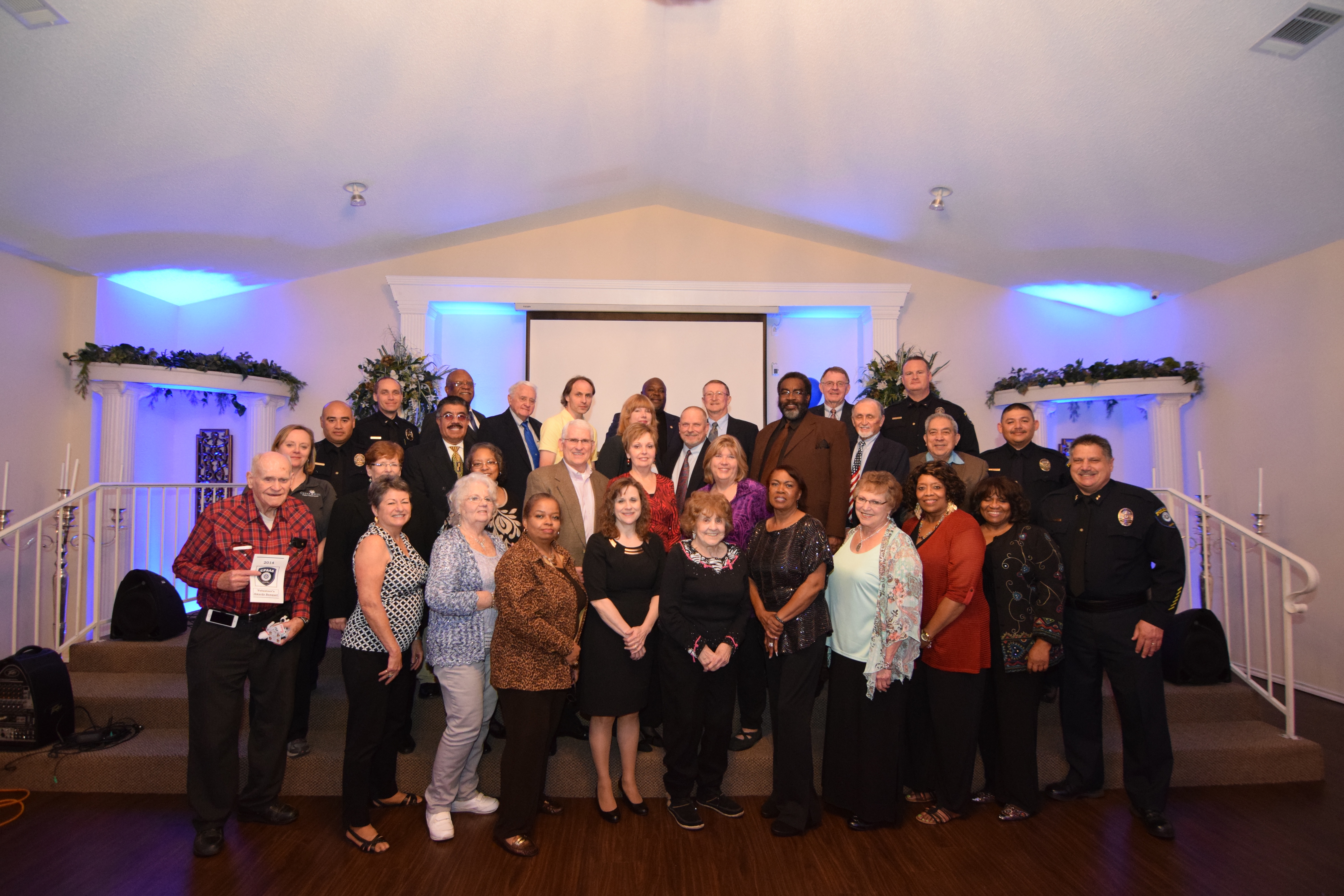 Citizens Police Academy Alumni Association Members and Officers