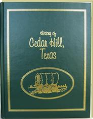 History of Cedar Hill book