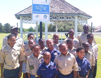 Boy Scout Troup 786