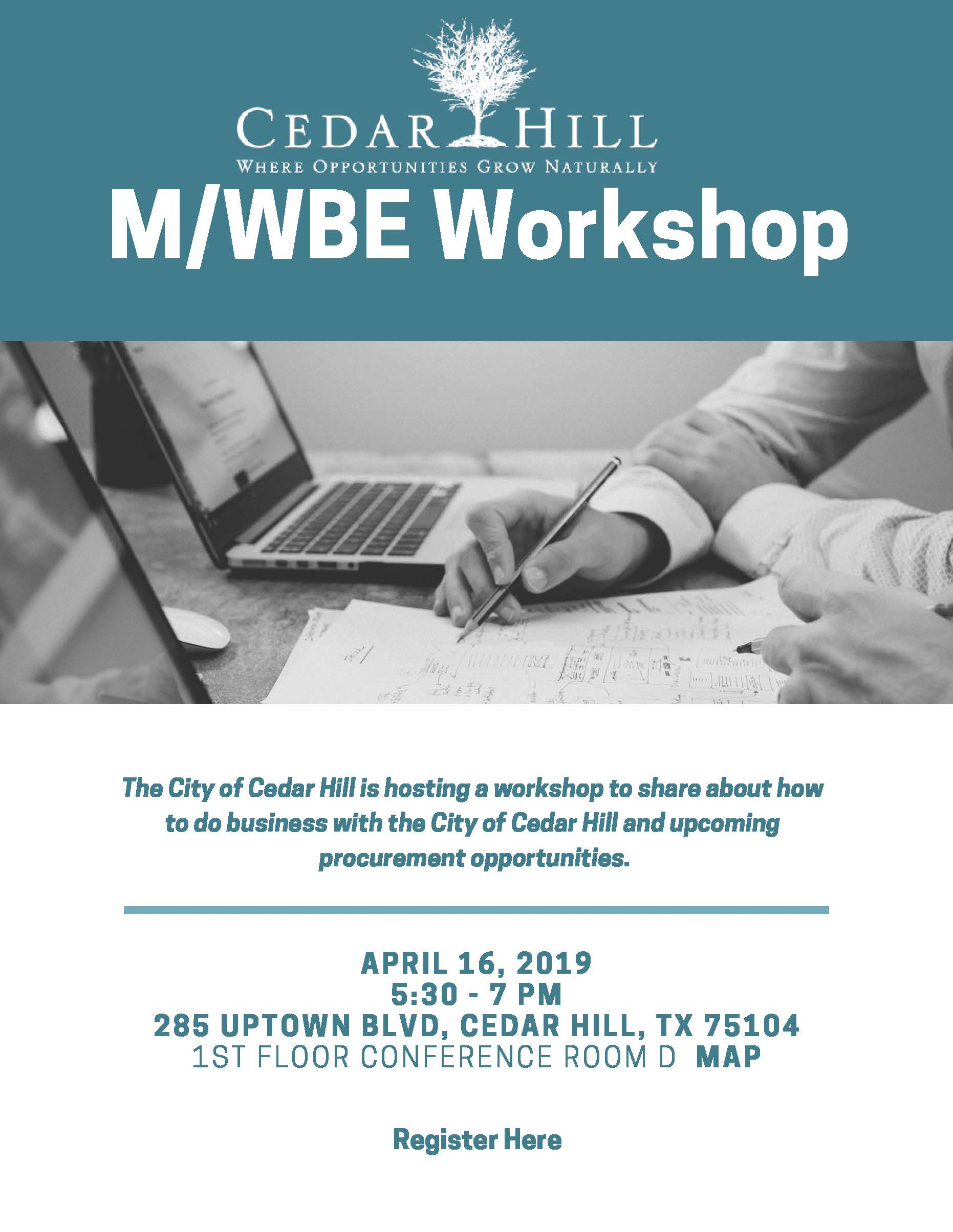 MWBE Workshop Flyer