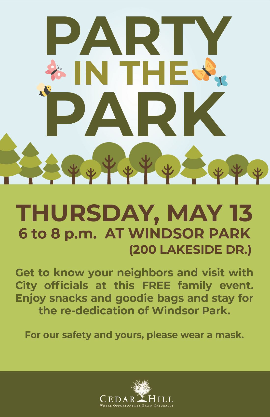 Party in the Park - Windsor Park