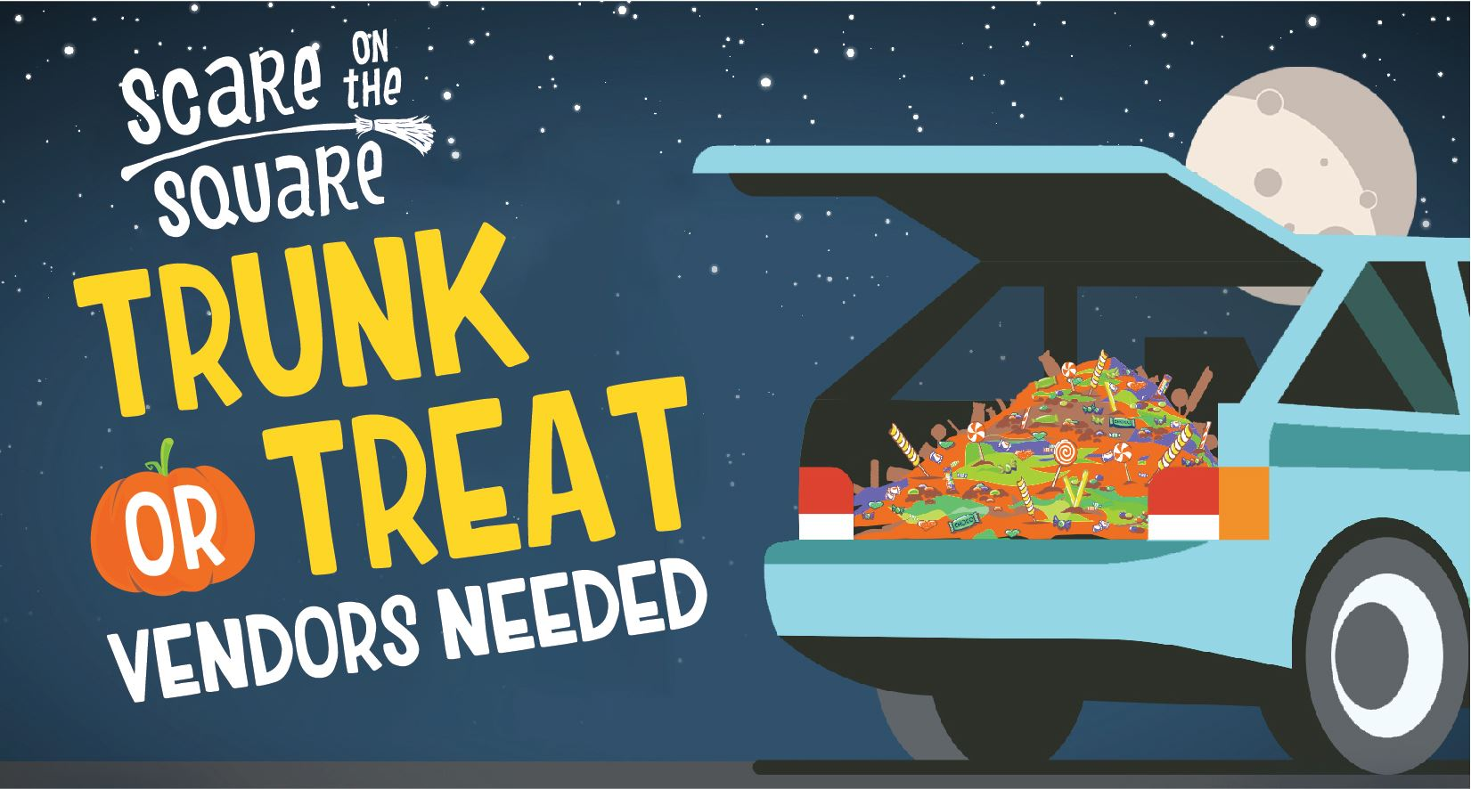 Trunk or Treat Vendors Needed